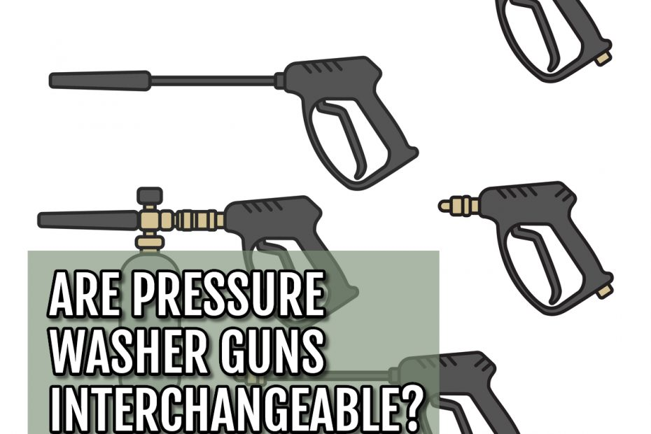 Cover graphic of sprayers for are pressure washer guns interchangeable blog